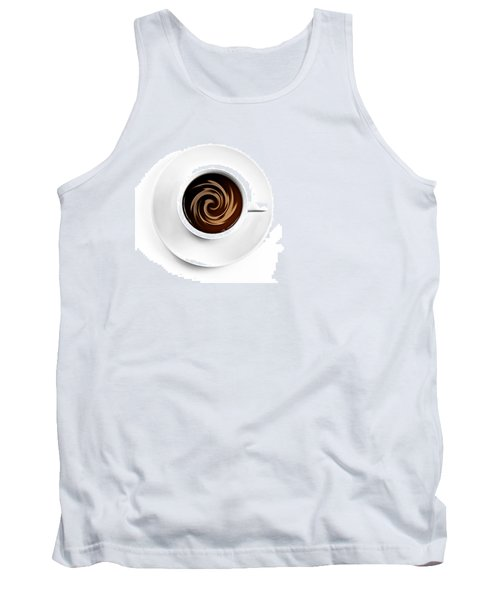 Tank Top featuring the photograph Coffee And Cream by Gert Lavsen