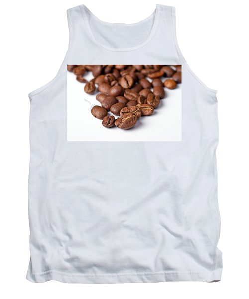Tank Top featuring the photograph Coffee Beans by Gert Lavsen