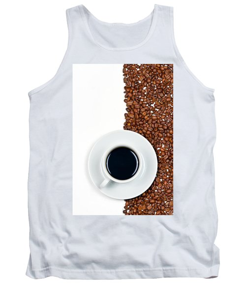 Tank Top featuring the photograph Coffee by Gert Lavsen