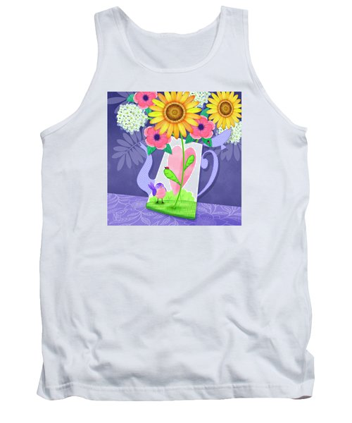 Coffee Pot Surprise Tank Top