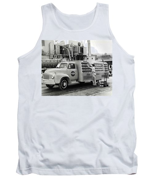 Coke Delivery Truck Tank Top