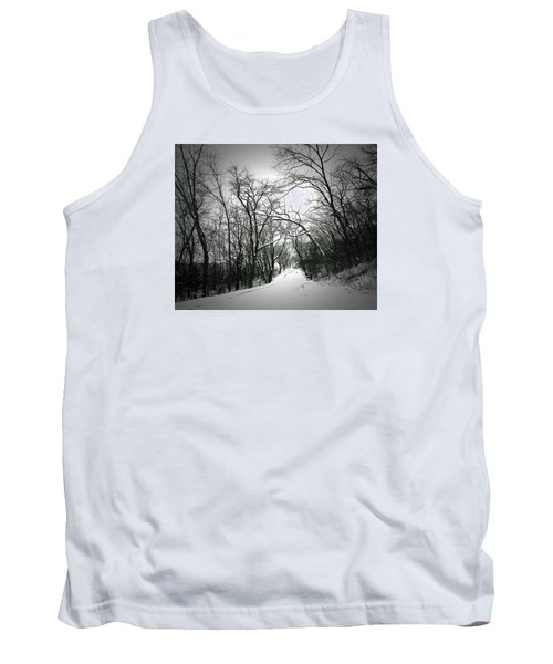 Cold Black Road Tank Top