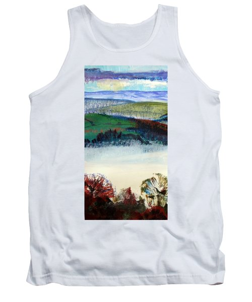 Cold Bright Morning England Tank Top
