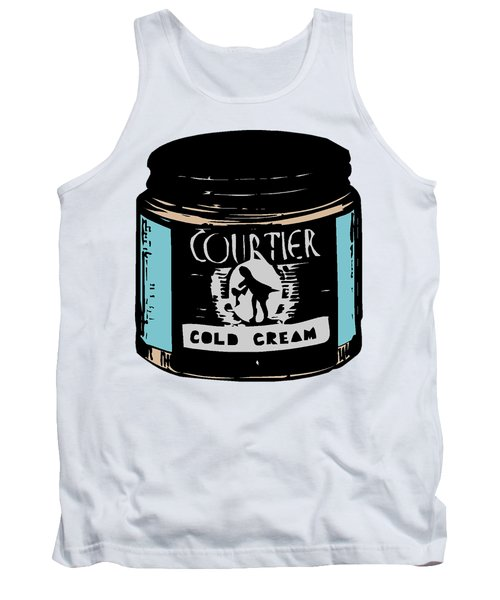 Tank Top featuring the digital art Cold Cream by ReInVintaged
