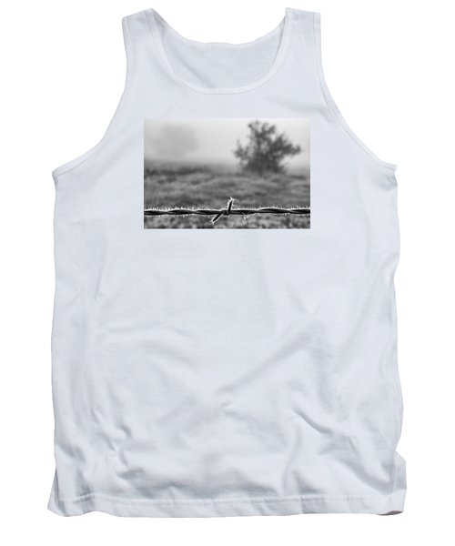 Tank Top featuring the photograph Cold Frosty Morning by Monte Stevens