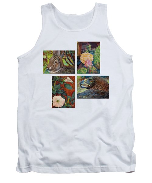 collection of 4 Desert minatures Tank Top
