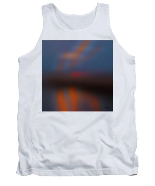 Color Abstraction Lxiii Sq Tank Top