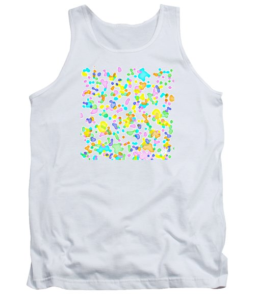 Color Blots Tank Top