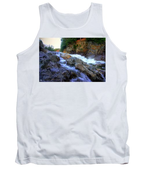 Color Steps At Livermore Falls Tank Top