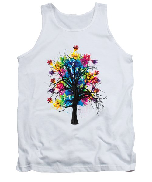 Color Tree Collection Tank Top by Marvin Blaine