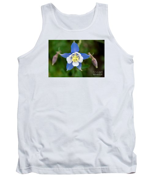 Tank Top featuring the photograph Colorado Blue by Sandy Molinaro