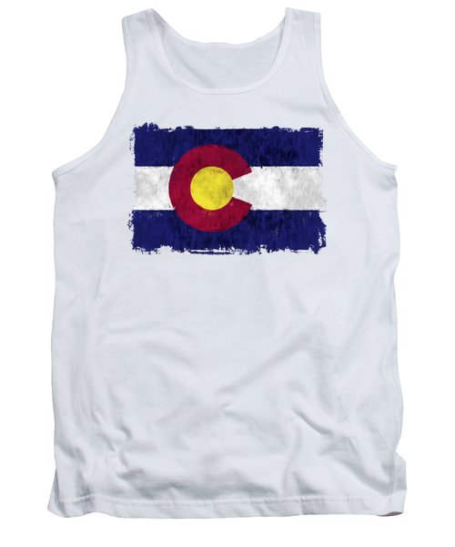 Colorado Flag Tank Top