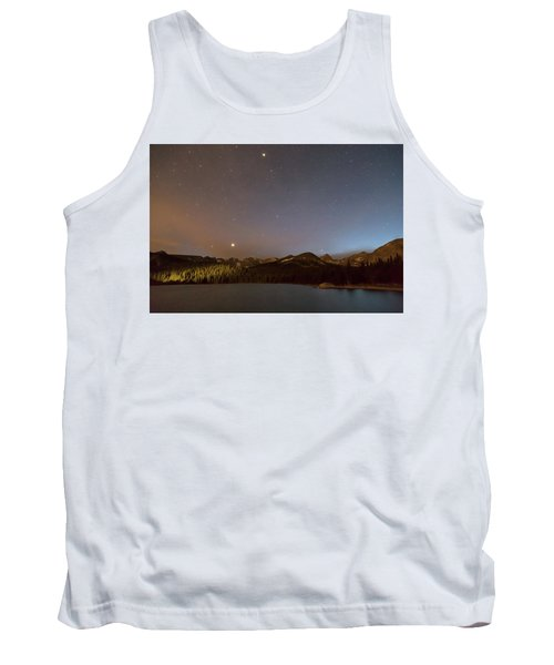 Tank Top featuring the photograph Colorado Indian Peaks Stellar Night by James BO Insogna