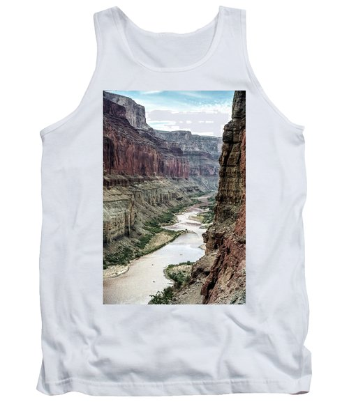 Colorado River And The East Rim Grand Canyon National Park Tank Top