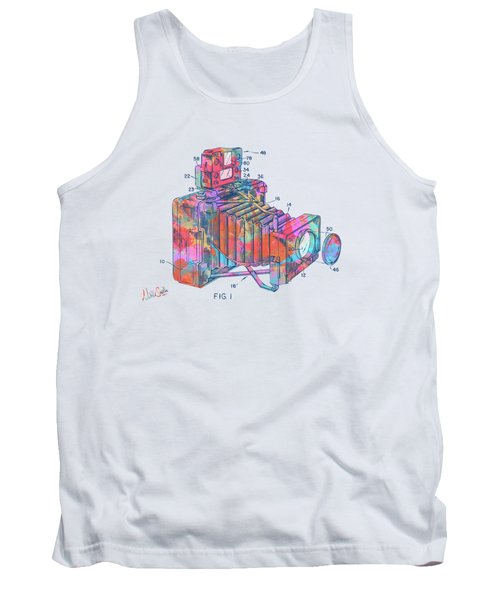 Colorful 1966 Photographic Camera Accessory Patent Minimal Tank Top