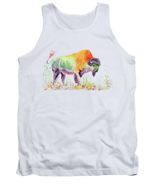 Colorful American Buffalo Tank Top