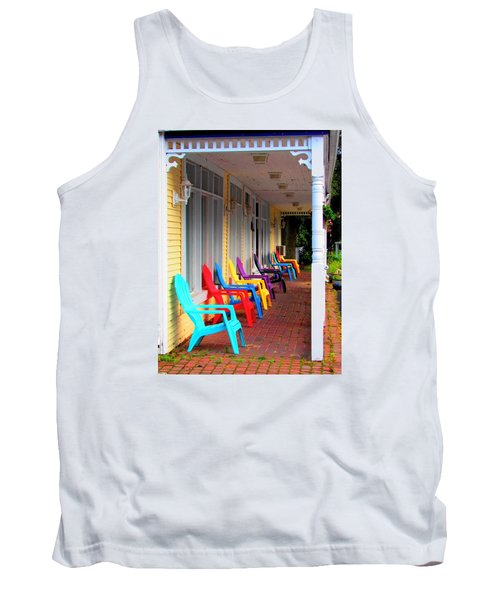 Colorful Chairs Tank Top