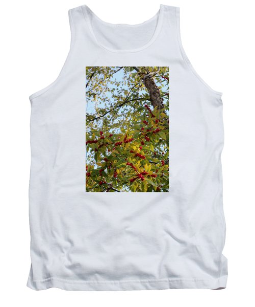 Tank Top featuring the photograph Colorful Contrasts by Deborah  Crew-Johnson