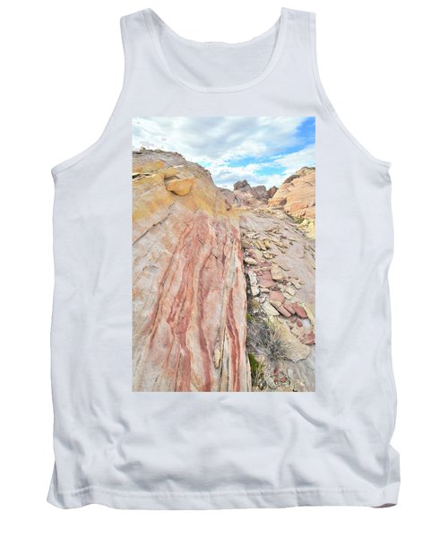 Colorful Crest In Valley Of Fire Tank Top by Ray Mathis