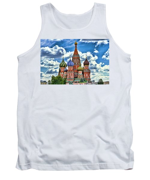 Colorful Domes Tank Top