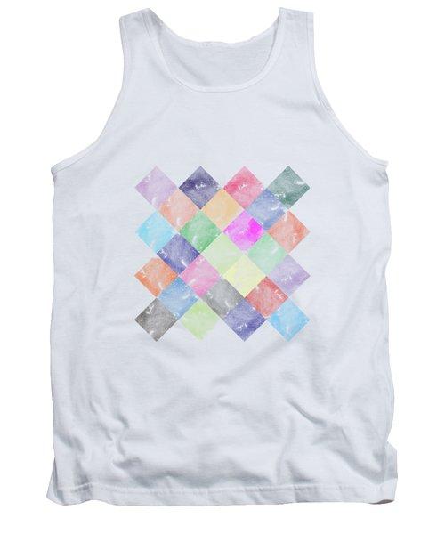 Colorful Geometric Patterns IIi Tank Top