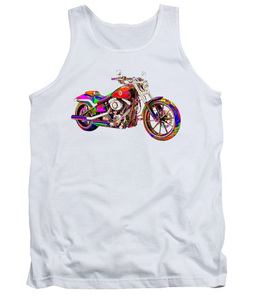 Colorful Harley-davidson Breakout Tank Top