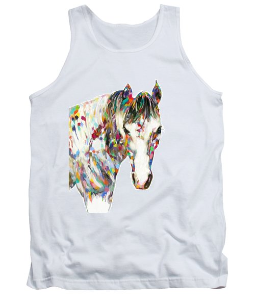 Colorful Horse Tank Top