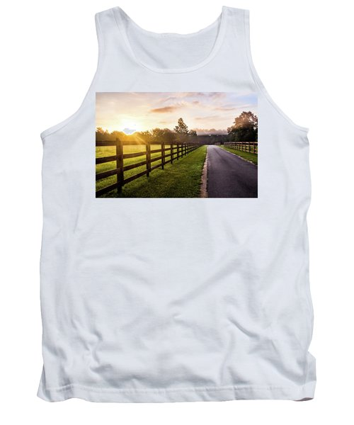 Tank Top featuring the photograph Colorful Palette At Sunrise by Shelby Young