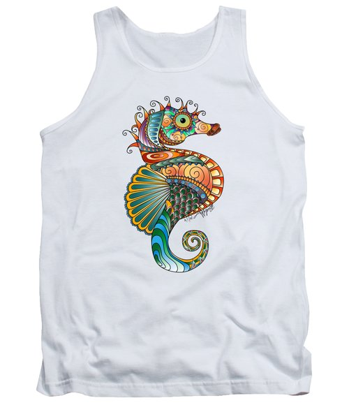 Colorful Seahorse Tank Top