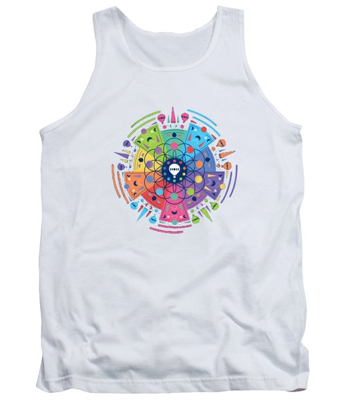 Colourful Of Stars Tank Top