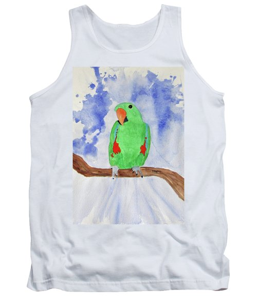 Female Parrot Tank Top