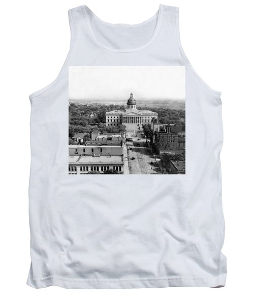 Columbia South Carolina - State Capitol Building - C 1905 Tank Top by International  Images