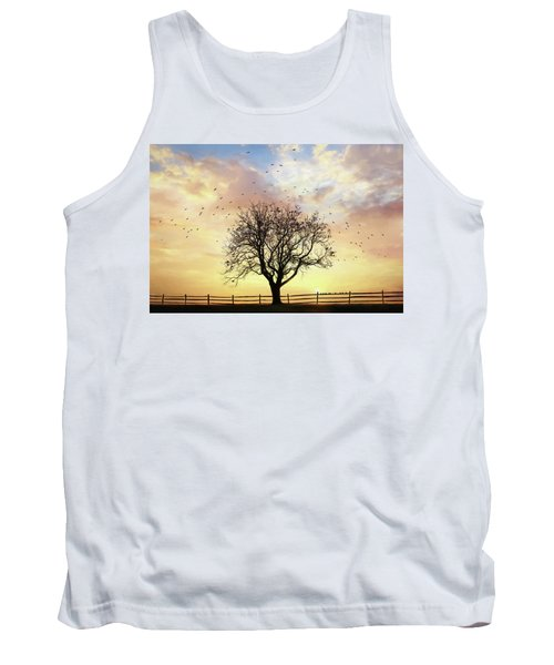 Tank Top featuring the photograph Come Fly Away by Lori Deiter