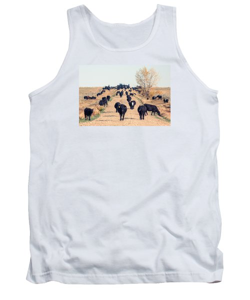 Coming Down The Road Tank Top