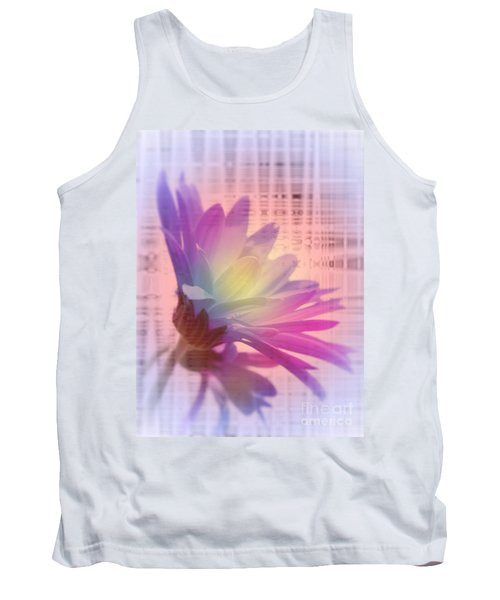 Coming To Life Love Notes Mirror Tank Top by Cathy  Beharriell