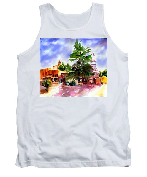Commercial Street, Old Town Auburn Tank Top