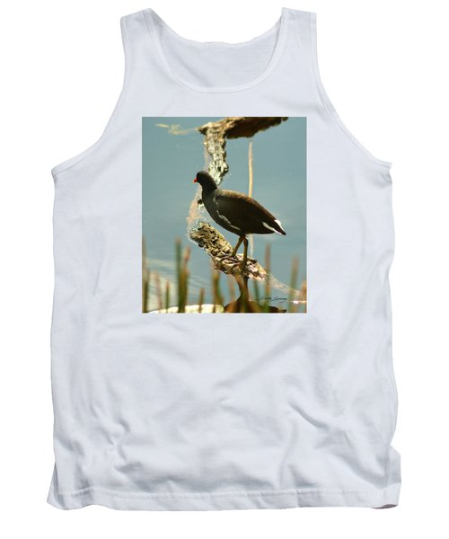 Common Moor Hen Tank Top