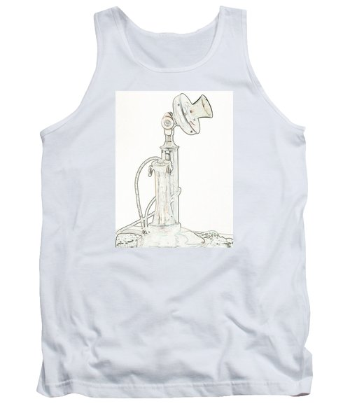 Tank Top featuring the photograph Communication by Rhonda McDougall