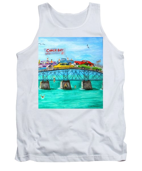 Conch Day Tank Top