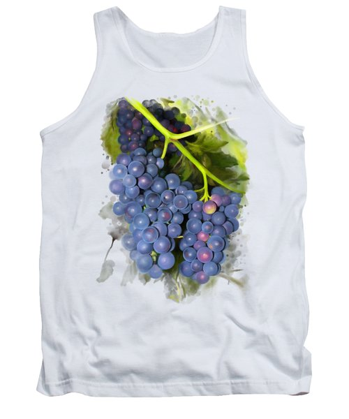 Concord Grape Tank Top by Ivana Westin