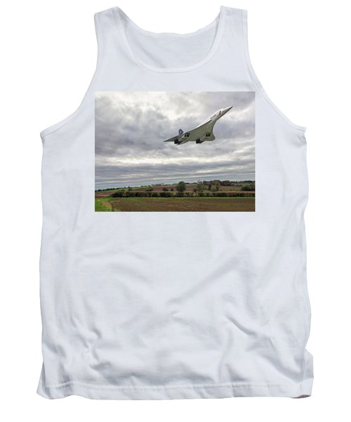 Concorde - High Speed Pass Tank Top by Paul Gulliver