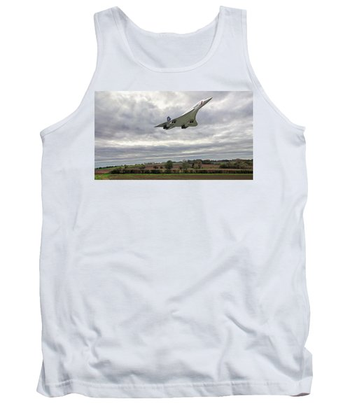 Concorde - High Speed Pass_2 Tank Top by Paul Gulliver