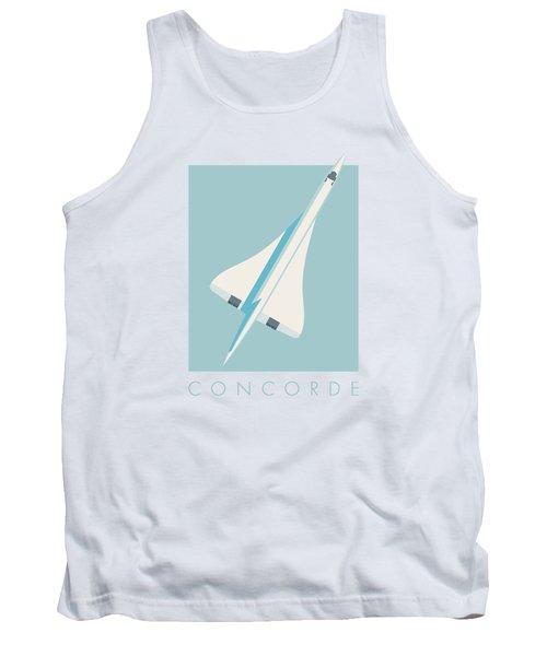 Concorde Jet Airliner - Sky Tank Top