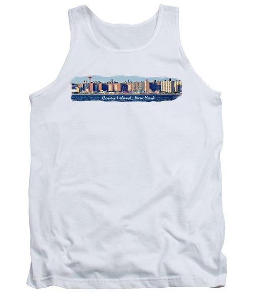 Coney Island Ny  Tank Top