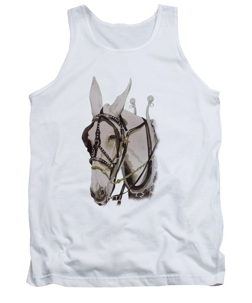 Connie The Mule Tank Top by Gary Thomas