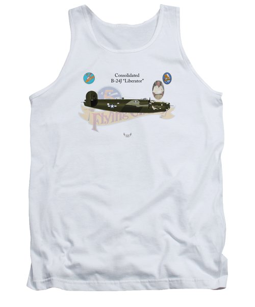 Consolidated, B-24j, Liberator, Rough Night Tank Top
