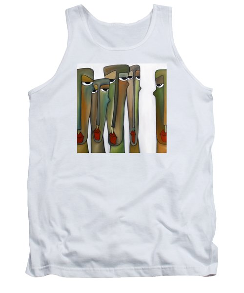 Constituents Tank Top by Tom Fedro - Fidostudio