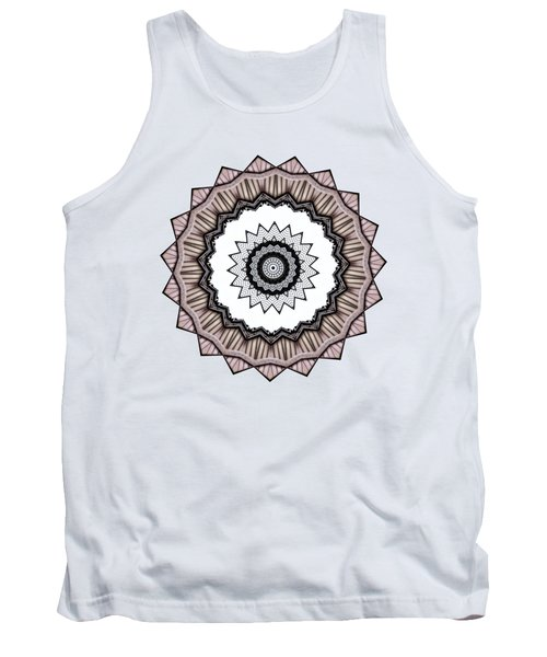 Construction Mandala By Kaye Menner Tank Top by Kaye Menner