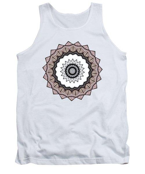 Construction Mandala By Kaye Menner Tank Top