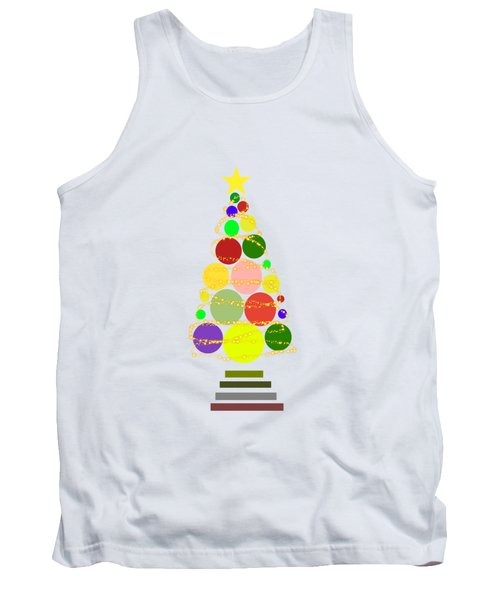 Contemporary Christmas Tank Top